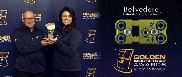 Belvedere Golden Mousetrap Award