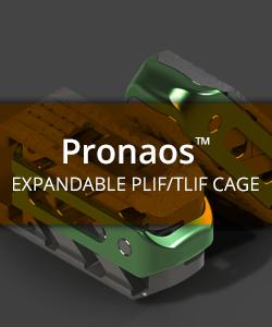 Pronaos Expandable PLIF/TLIF Cage